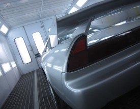 写真1:ホンダ NSX全塗装&ハイモースコート施工